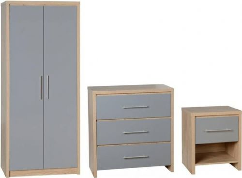 Seville Bedroom Set GREY